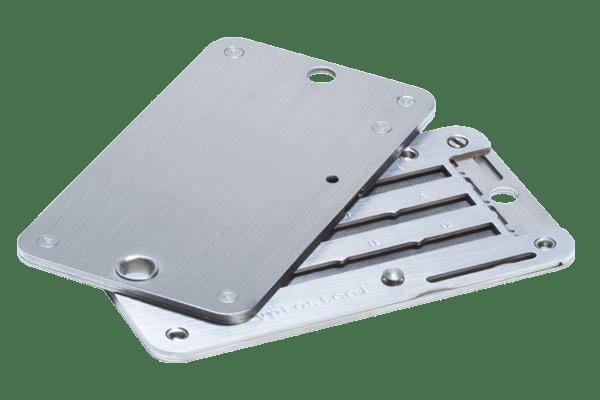 Cryptosteel metall plånbok