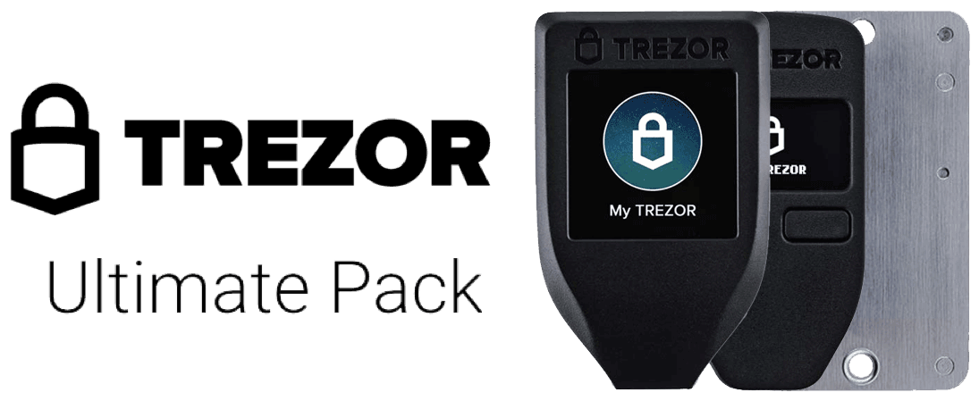 Trezor wallet ultimate pack