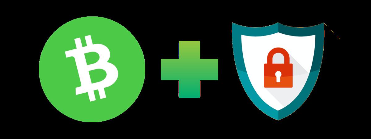 bitcoin cash plus säkerhet
