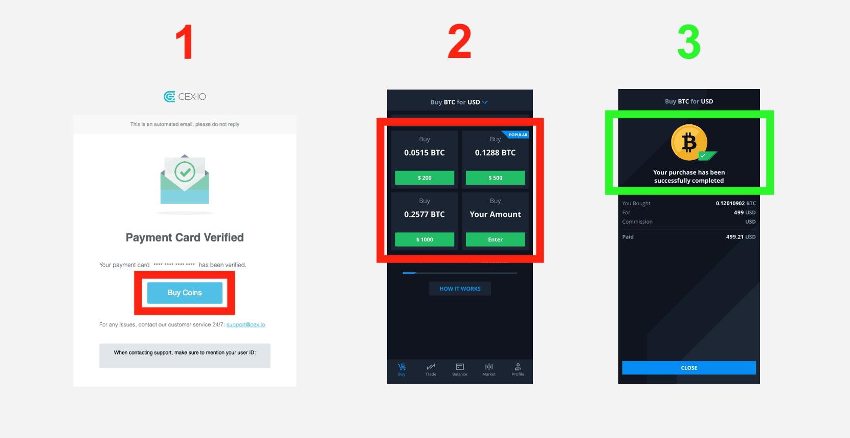 cex.io app köp bitcoin steg