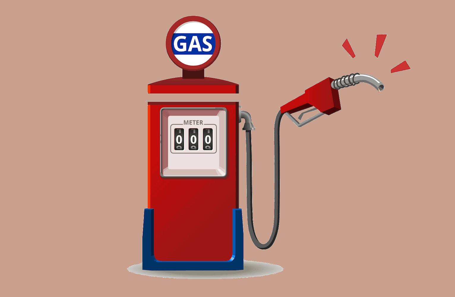 ether gas bränsle