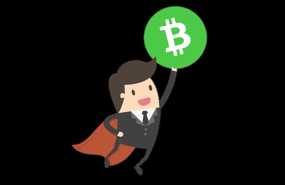 stigande bitcoin cash pris