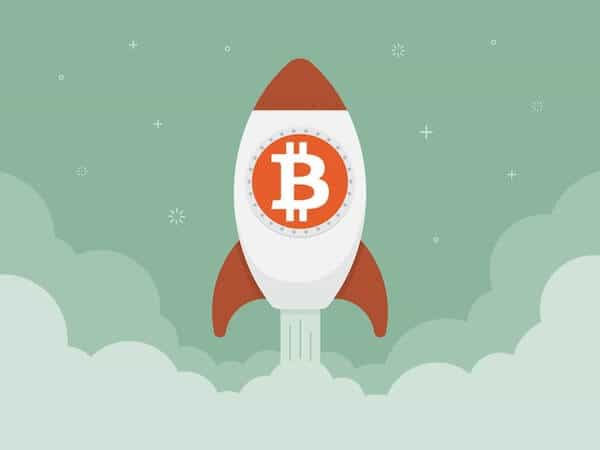Bitcoin red rocket