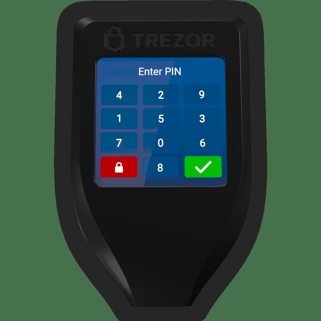 Trezor hardware wallet t