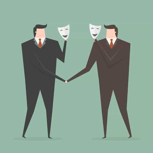 Anonymous men