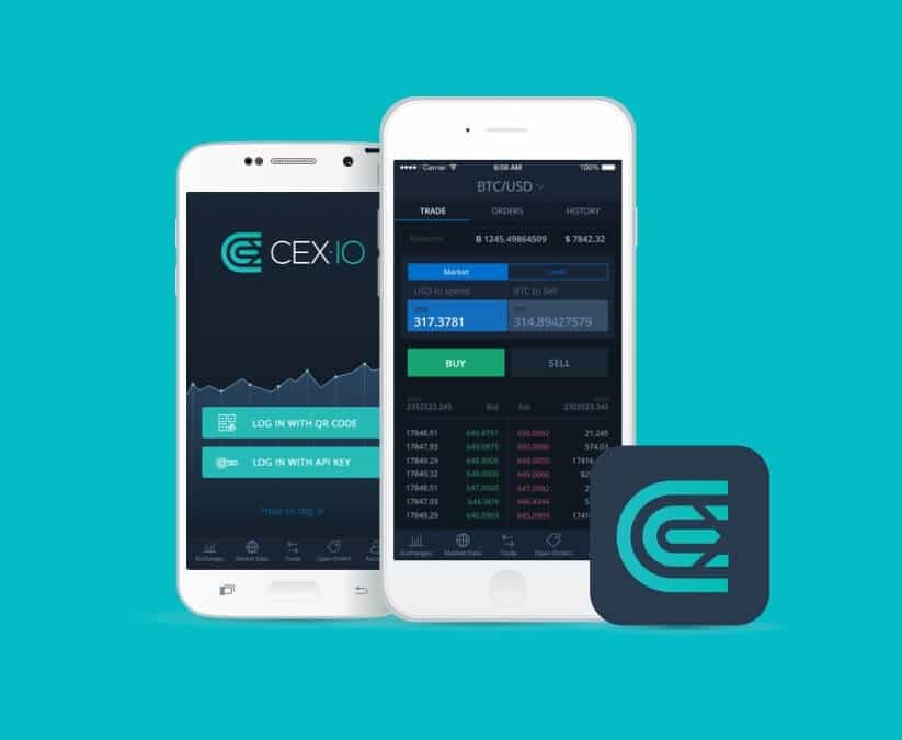CEX.io account