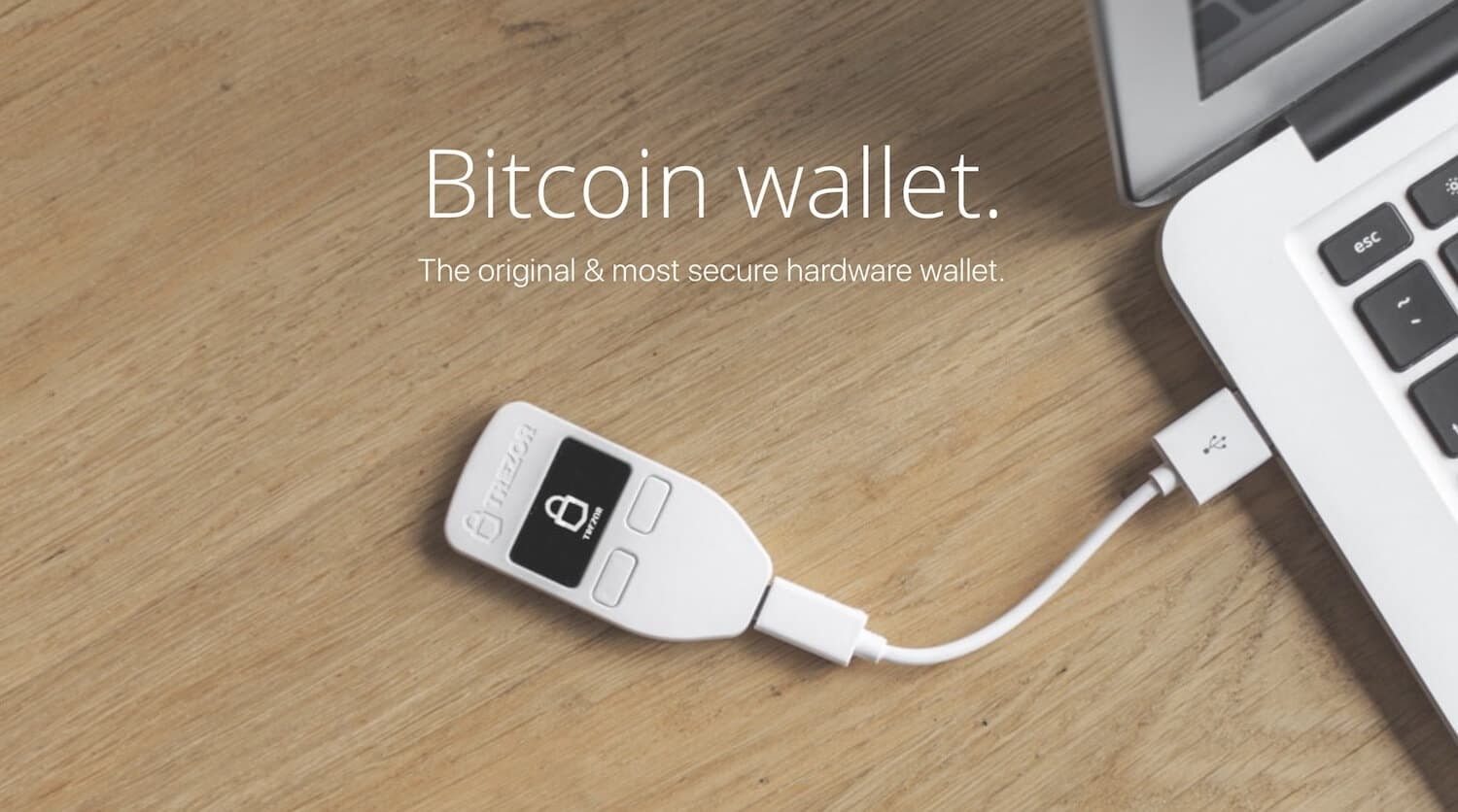 Trezor bitcoin hardware wallet