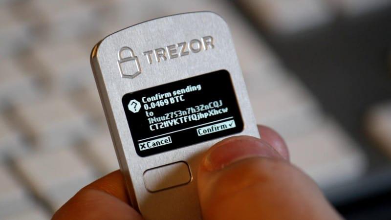 Trezor transaction