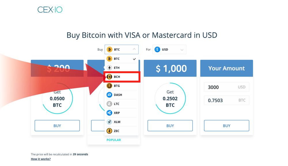 cex.io buy bitcoin cash