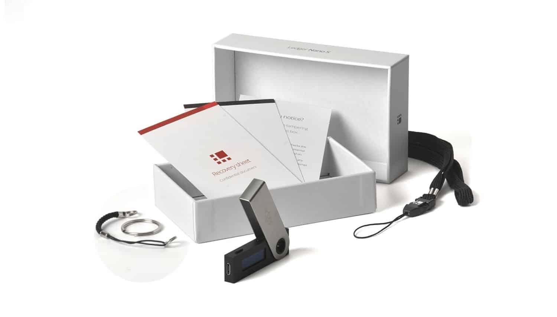 Ledger wallet box