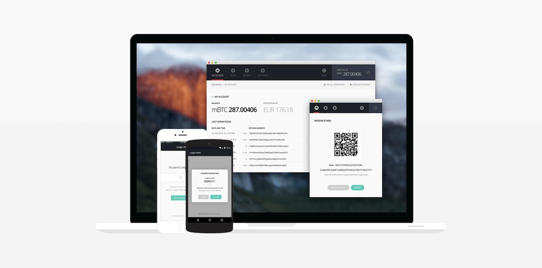 Ledger wallet interface